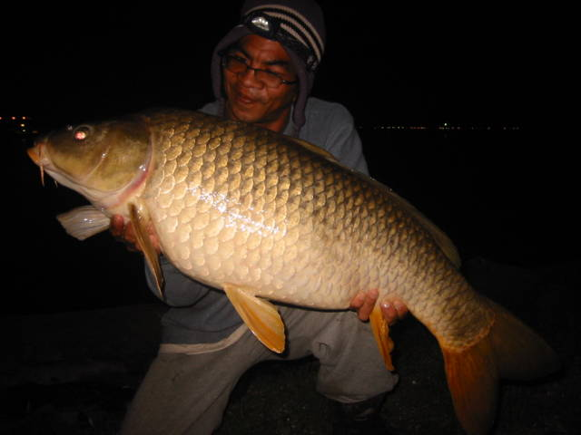 night fishing for pla nai..