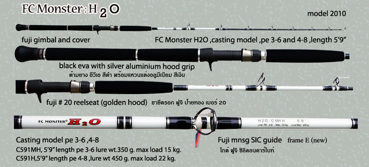 FC Monster H2O model 2010 generation 4 .....new revoluition