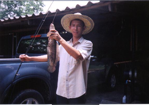 เยื่อปลอม ลุยอ่างเก็บน้ำหนองปลาแขยง อ.กบินทร์บุรี