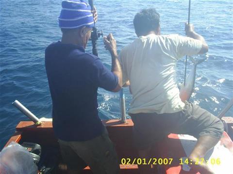จันทบุรี 31/12/06 - 02/01/07 กับเรือไต๋ หมา
