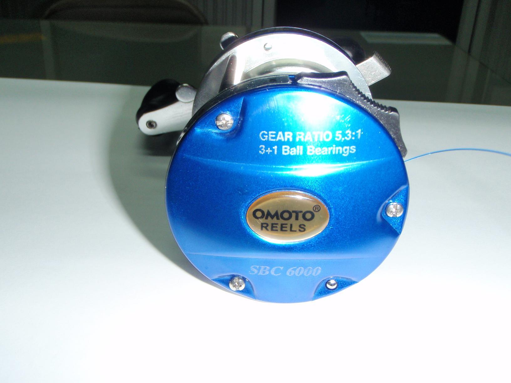 ผ่ารอกเบส OMOTO Reels. SBC6000 ราคาถูก