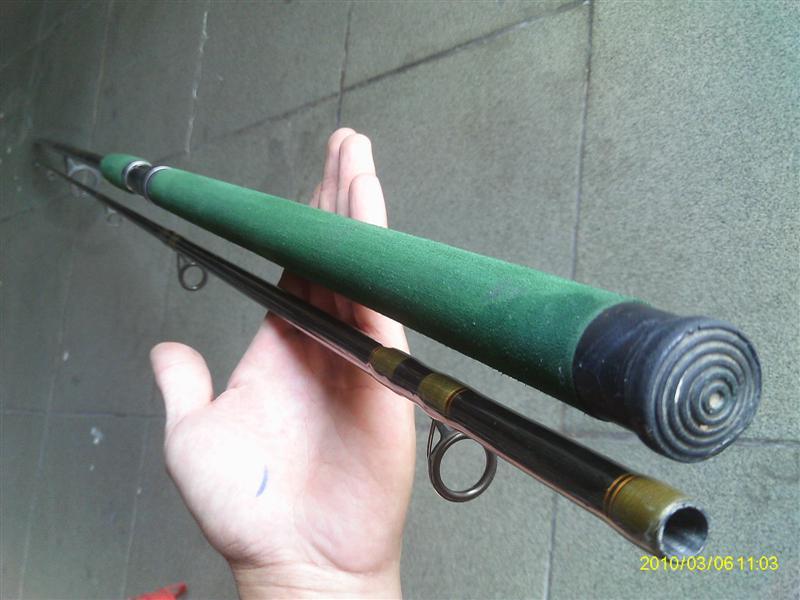 คันลูมิสด้ามสีเขียว