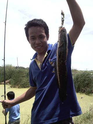 ปลาเล็กๆ ของเด็กตกปลา