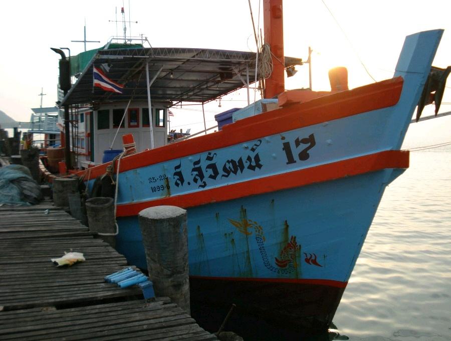 ตกปลาหลักแก๊ส เรือ ส.สุวัฒน์17 สิ้นปี 53