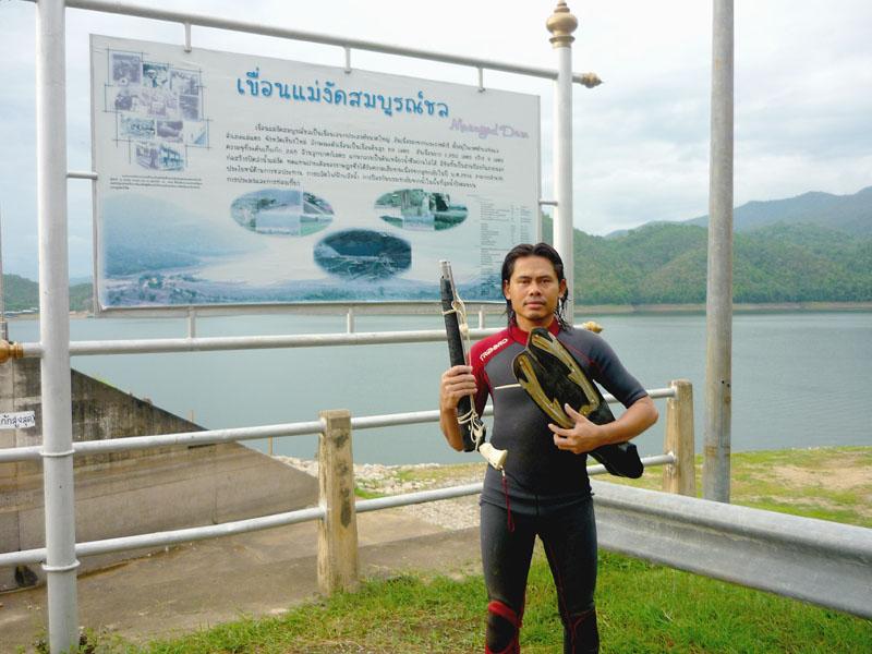 การดำนำยิงปลา โดย hunter_noo