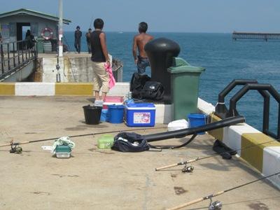ท่าเรือตกปลาทะเล ทุ่งโปรง สัตหีบ