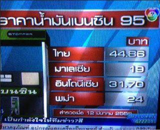 ทำไมคนไทยต้องใช้น้ำมันแพงกว่าเพื่อนบ้าน