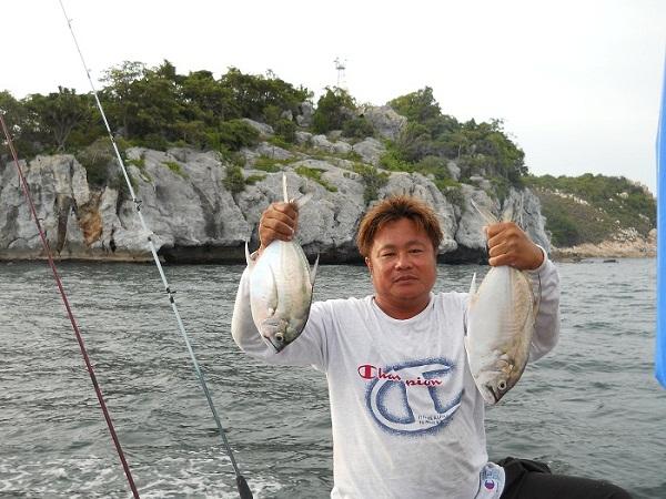 ใครชอบตกปลาแบบสายเล็กที่สีชังไม่มีผิดหวังครับช่วงนี้