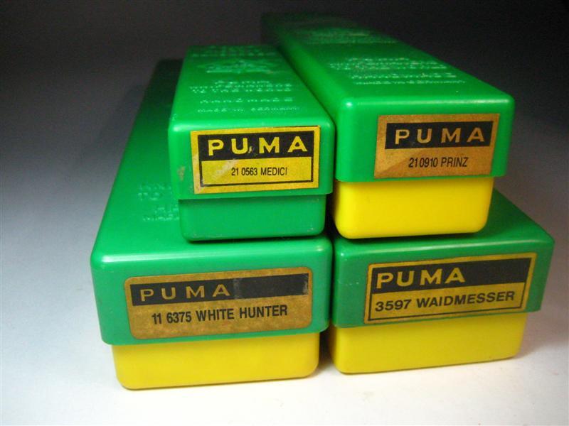 เอารูปมีด PUMA ที่สะสมมาให้ดู ครับ.........