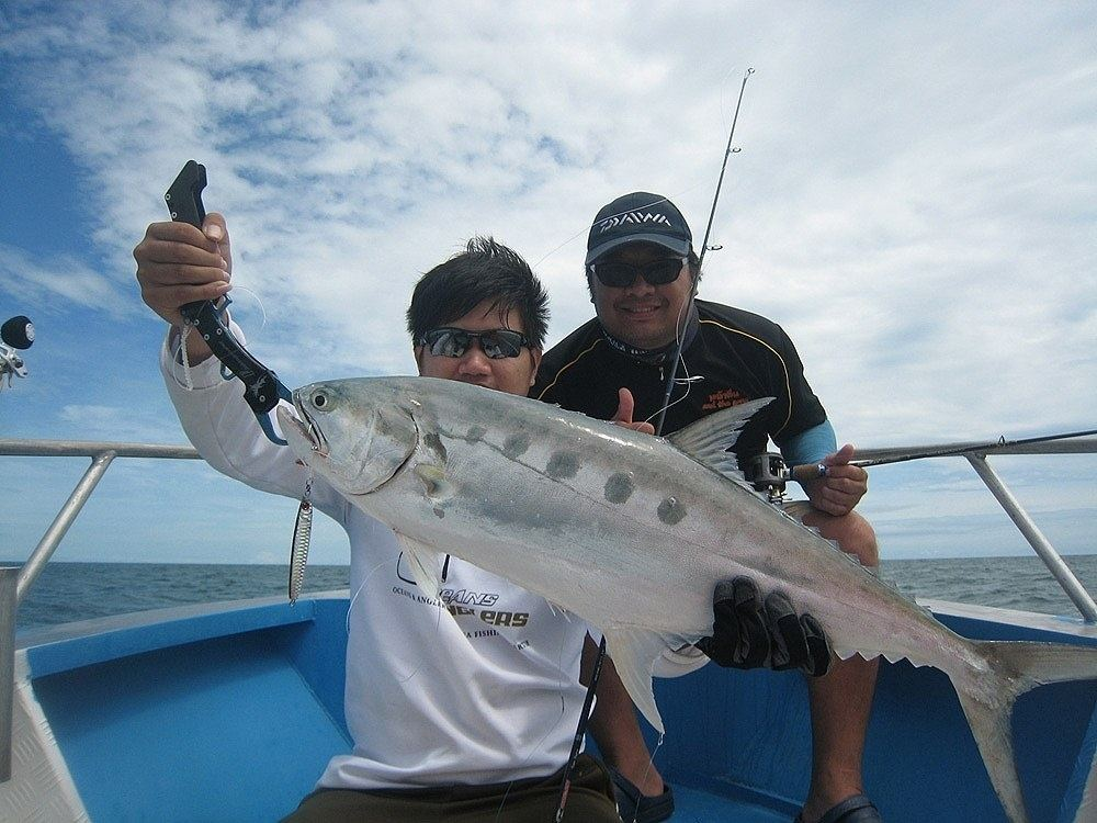 Light Jigging Trip By P&G ลมเข้า