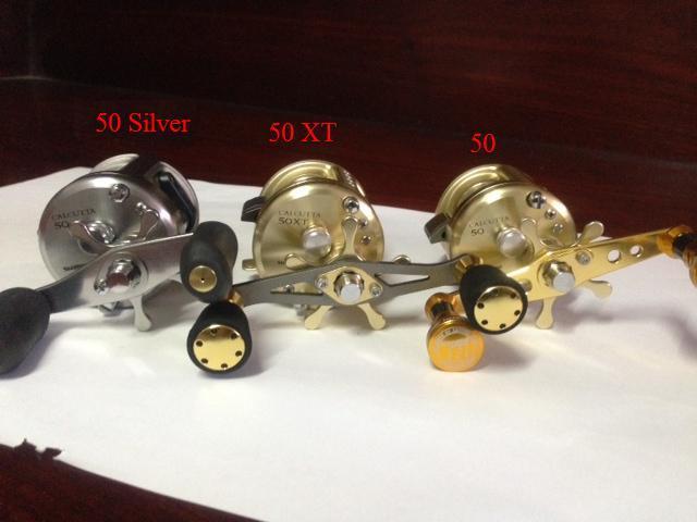 เปรียบเทียบ CT 50 . CT 50 XT . CT 50 Silver