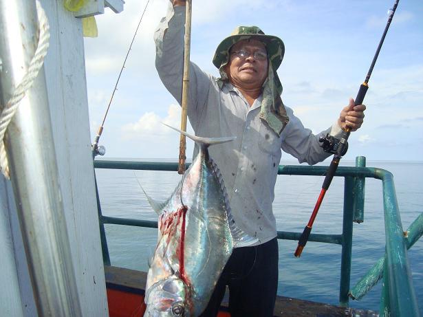 ทริปตกปลาทะเลตราด กับไต๋บูรณ์......