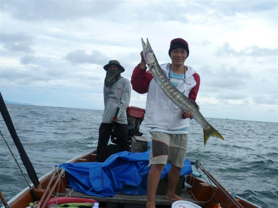 เต็มครับหาเพื่อนตกปลาแหลมสิงห์จันทบุรี
