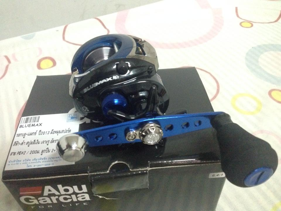 Abu garcia ambassadeur blue series blue max fune