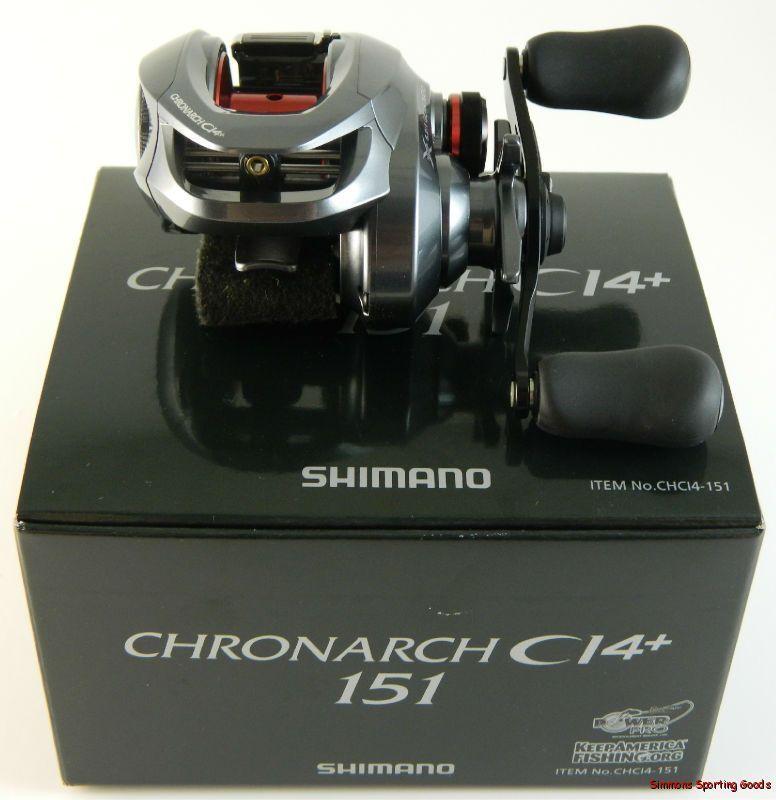 มาแล้วครับ ผ่ารอก Shimano Chronarch 151 CI4+