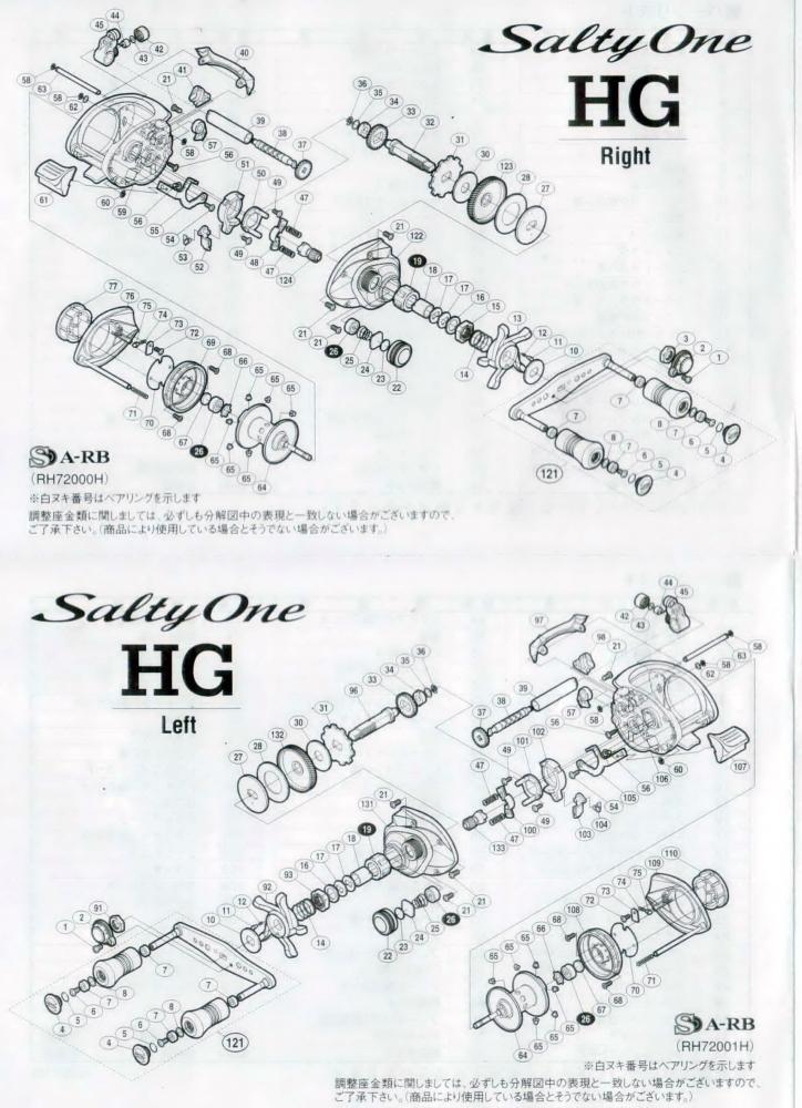 Shimano Salty One HG ผ่าล้างทำความสะอาด เอามาให้ชมครับ