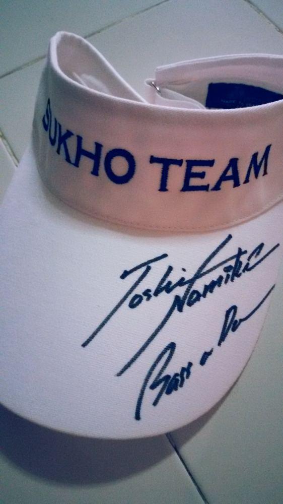 อยากอวด ลายเซ็นต์พ่อของลูก Toshinari Namiki 5555