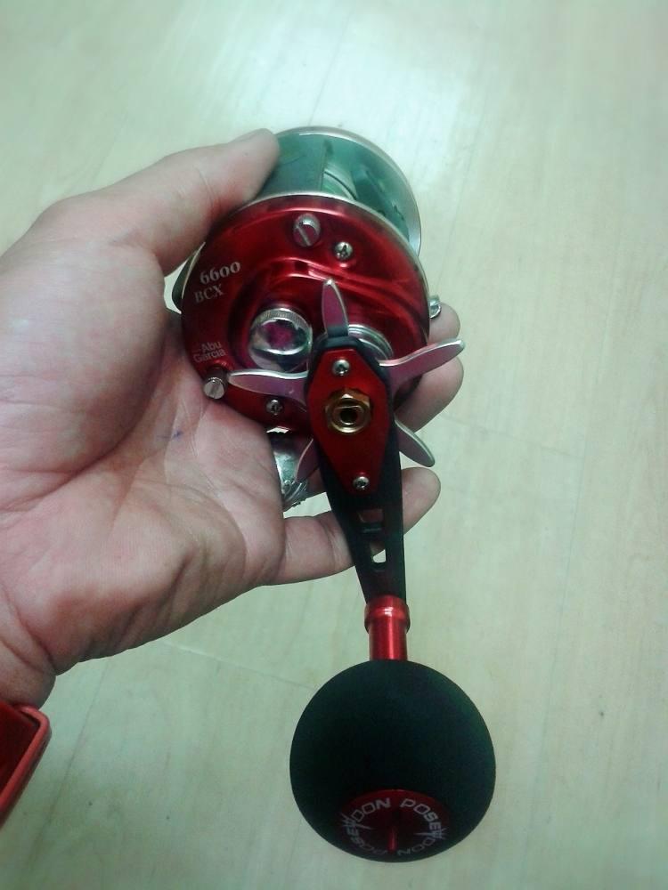 Abu 6600 BCX ใส่แค่แขนจิ๊กก็สวยแล้ว.....   ^^!