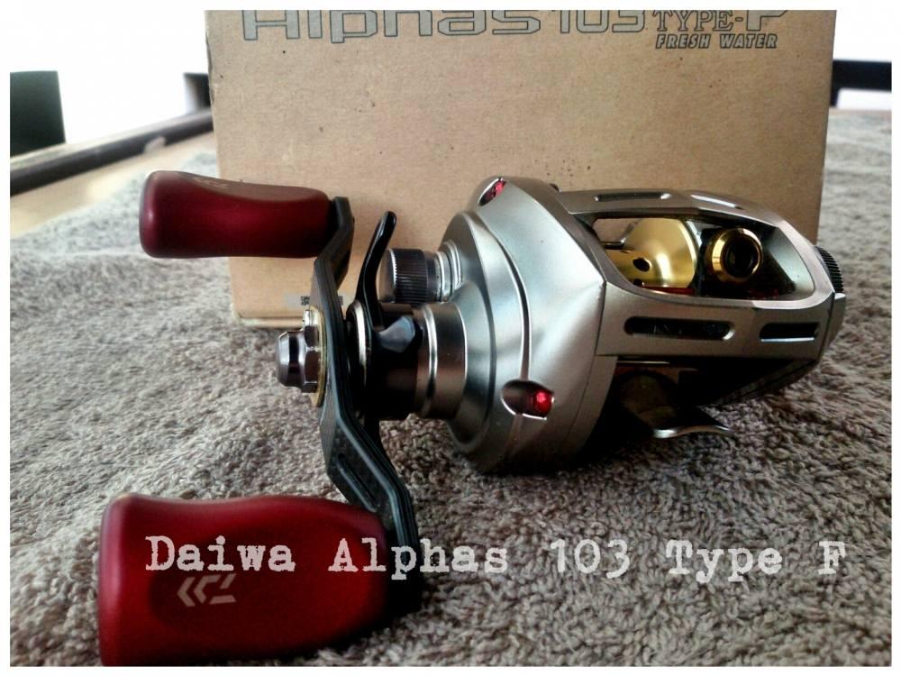 Daiwa Alphas 103 Type F ลองแต่งเบาๆ