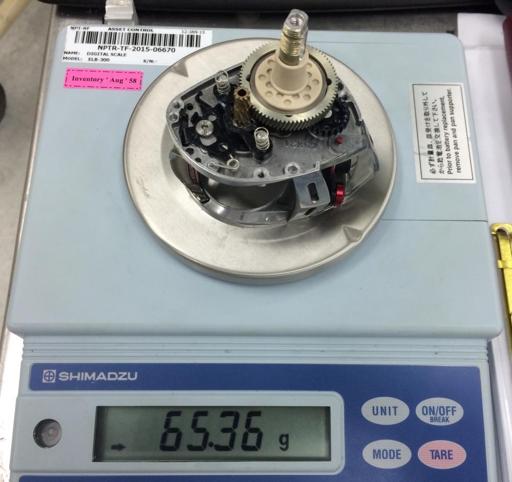 Alphas ito 103L-Ai Closed Project 5 ชั่งแล้วเกือบๆ 130 g.