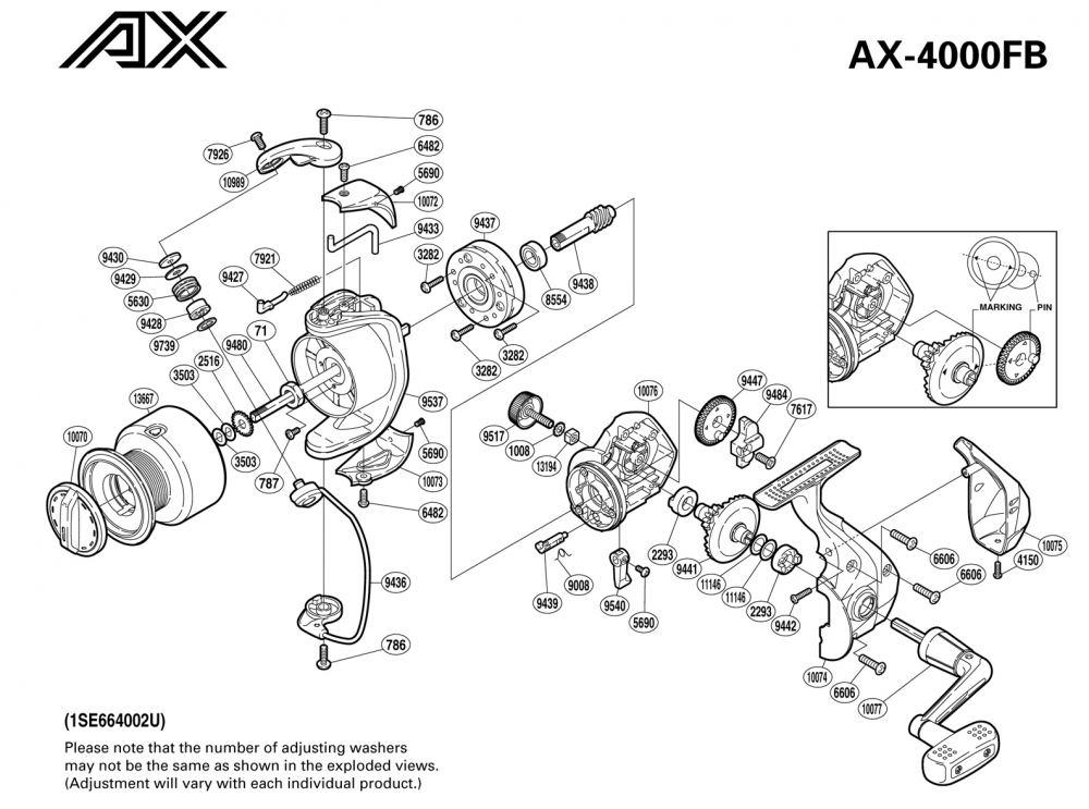 ผ่ารอก Shimano Ax 4000fb รอกดีราคาไม่เกิน 1000