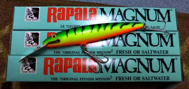Vintage Rapala Normark Wobbler CD 14 Magnum