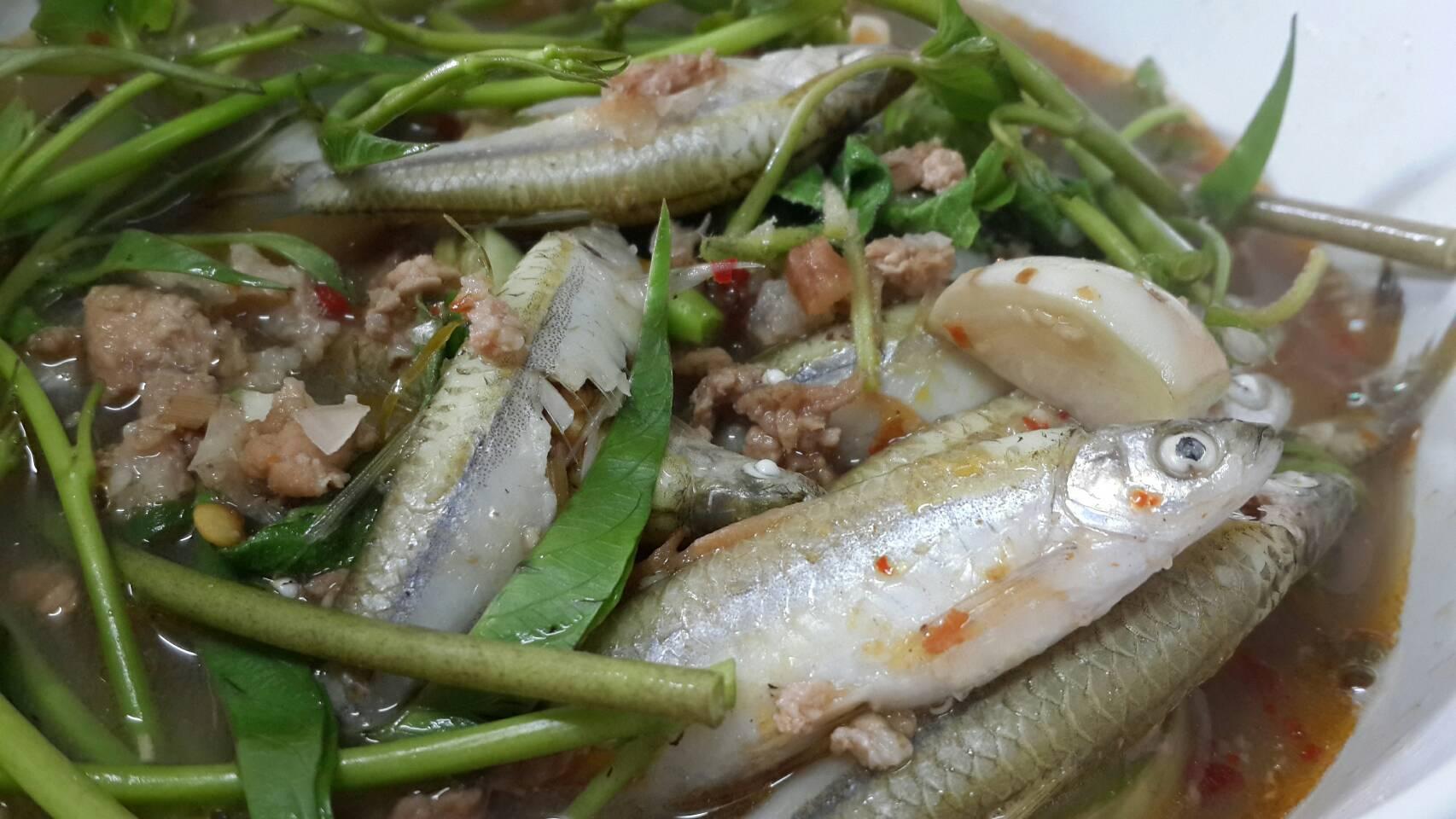 แกงพริเกลือปลากระซิว!!
