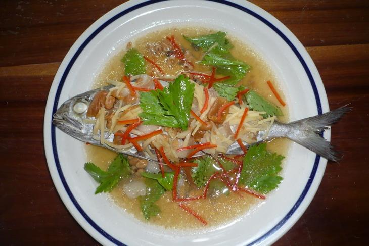 ต้มมะดันปลาสำลี