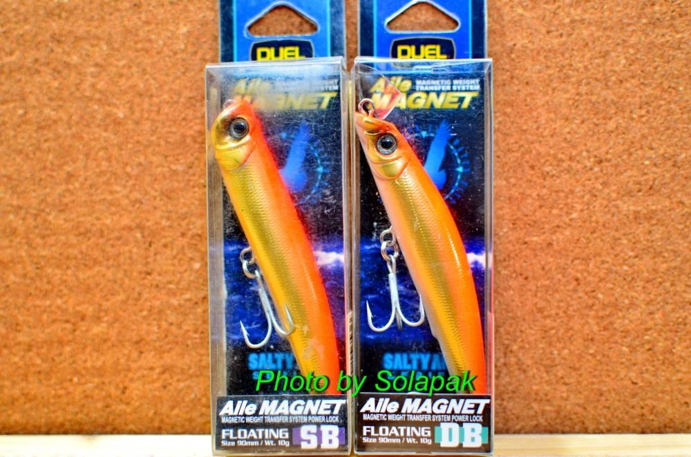 เหยื่อDuel/Yozuri Aile Magnet SB+DB 90Fที่สะสมครับ