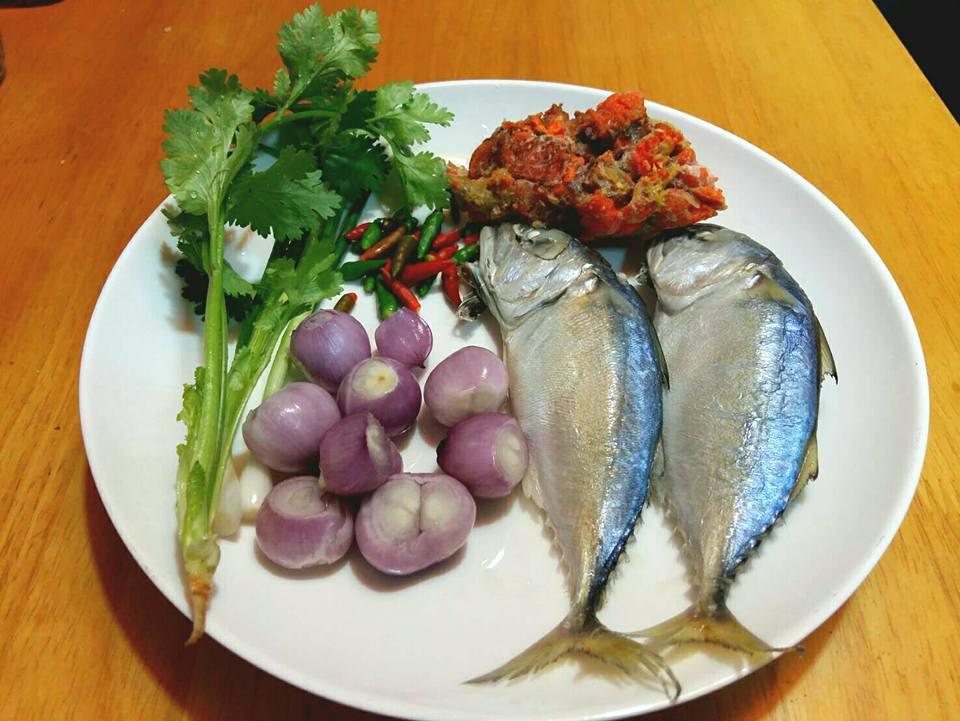 น้ำพริกปลาทู ไข่ปู กันคับ น้าๆๆ