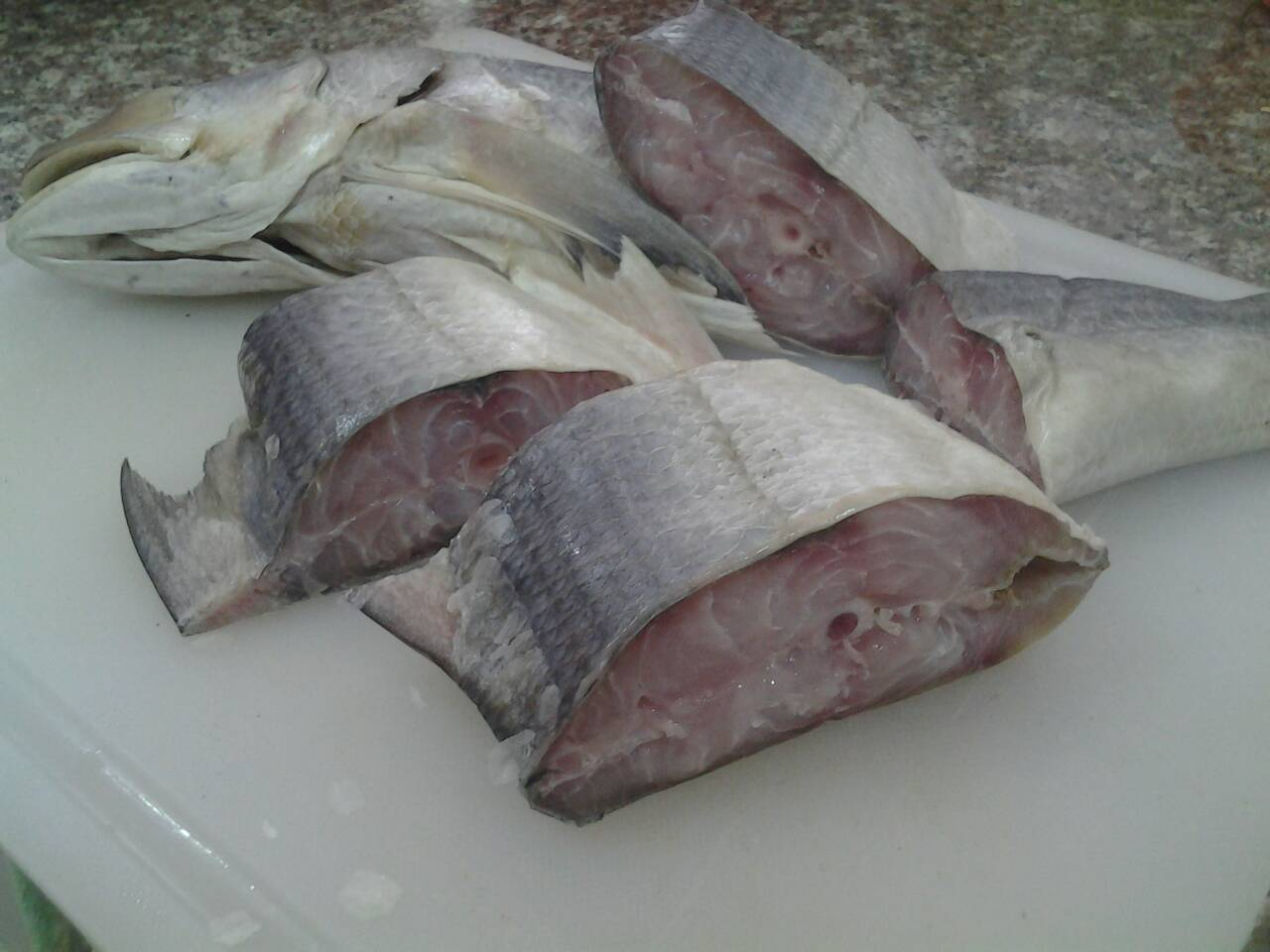 ปลาเค็มนึ่งหมูสับ