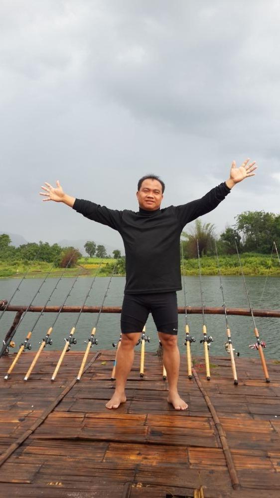 พักผ่อนตกปลาเขื่อนศรีนครินทร์ 29-30 ตุลาคม 59