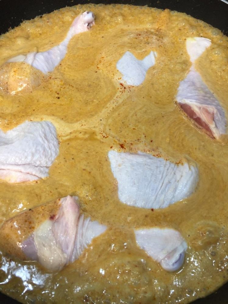 มัสมั่นไก่ แกงแก้วตา