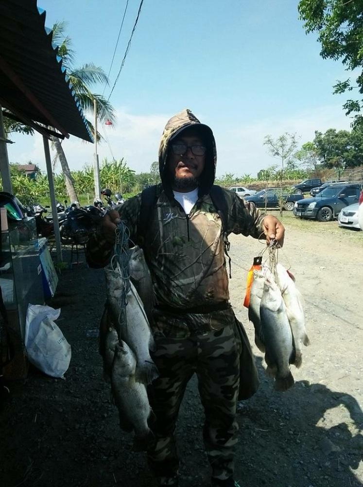 ==>อาทิตย์นี้กะพงบึงเตยจัดให้ลงปลาไซร์3.5-4โลเพิ่มให้18ตัวไม่รวม260โลลงปลาเรียบร