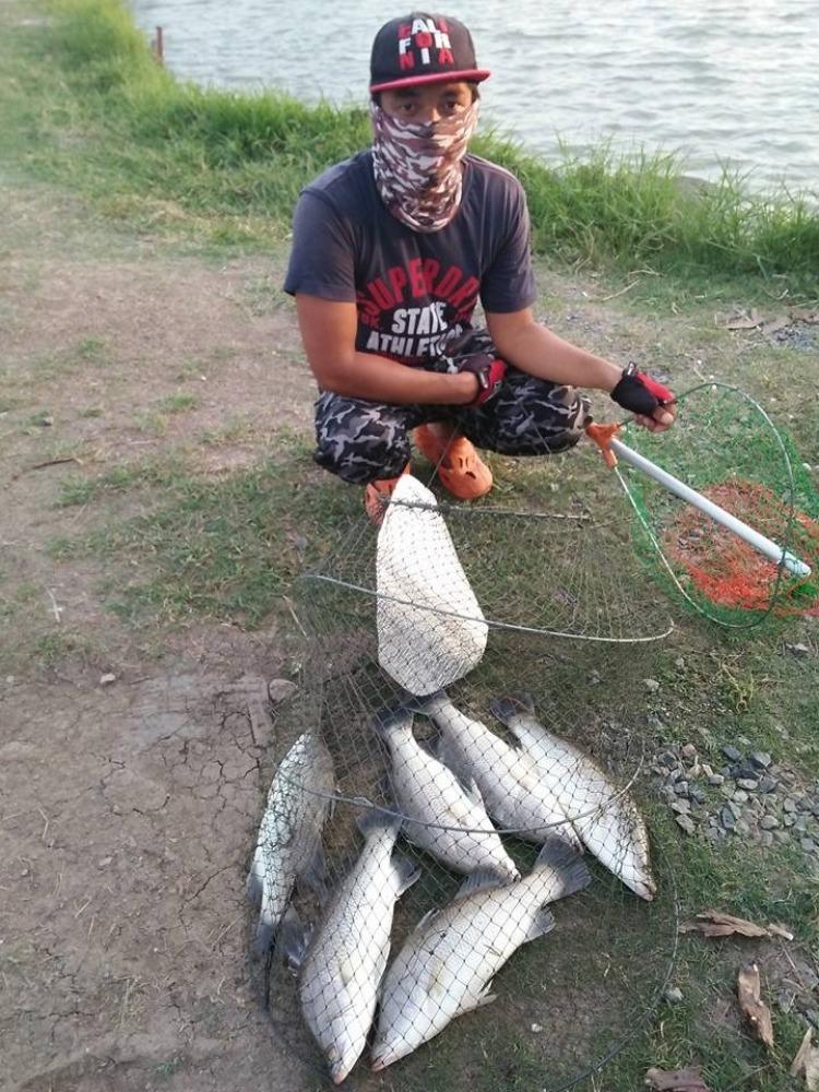 ==>ลงปลาแล้วครับกะพงบึงเตยอาทิตย์นี้มาจั่วกันได้เลยจร้าาา