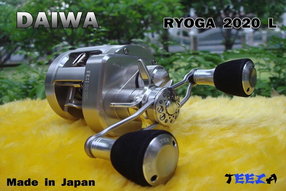 ***  TEEZA  ***  Show  !!  DAIWA  RYOGA  2020  L  CUSTOMIZE  Made  in  Japan  !!