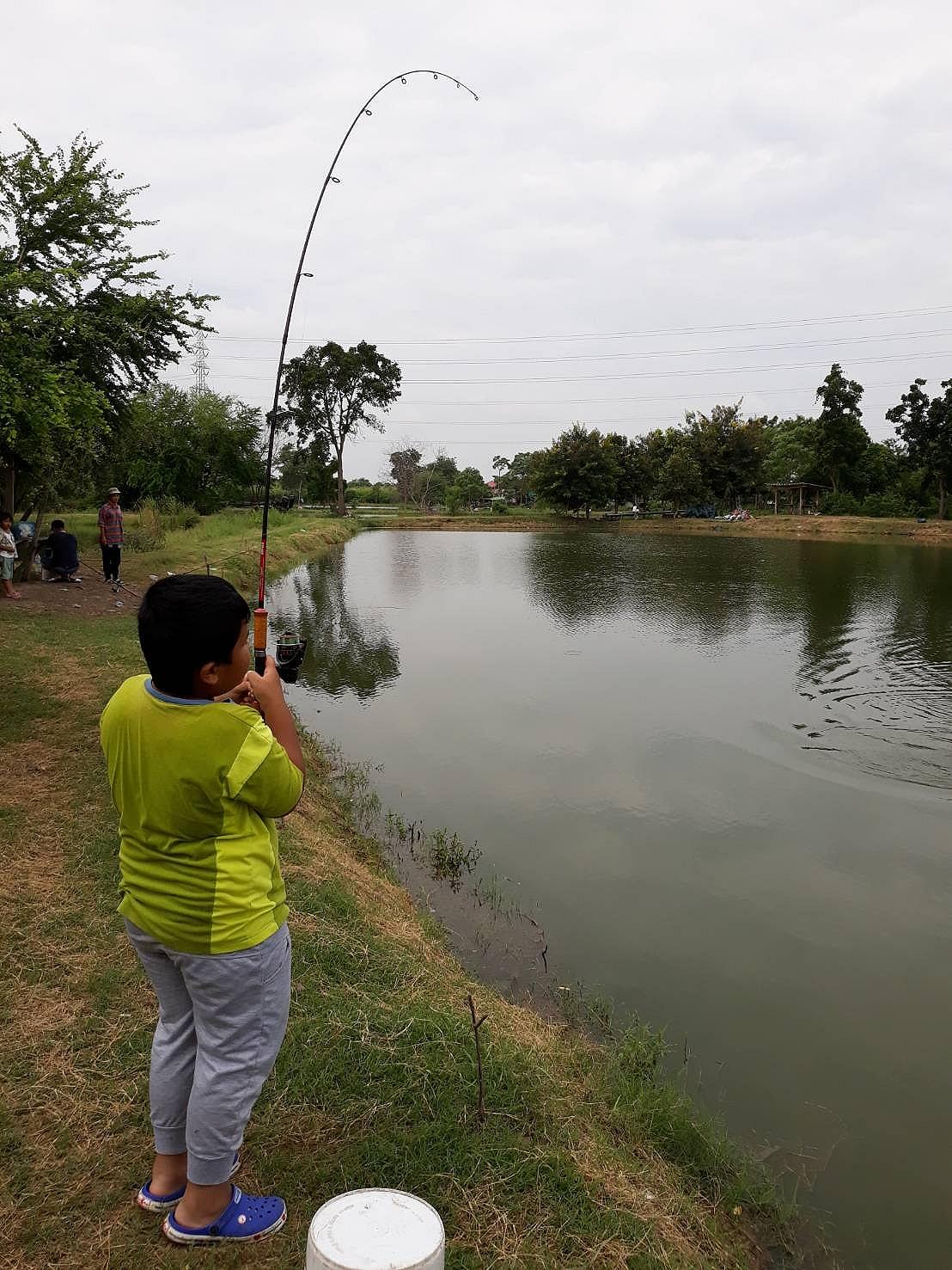 """บทเรียนที่สองของการตกปลาคือ... """"การรอคอย"""""""