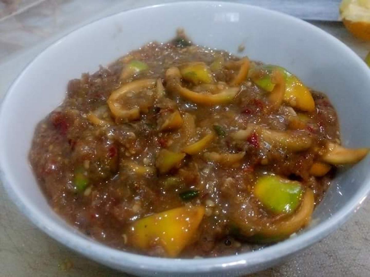 น้ำพริกมะอึก