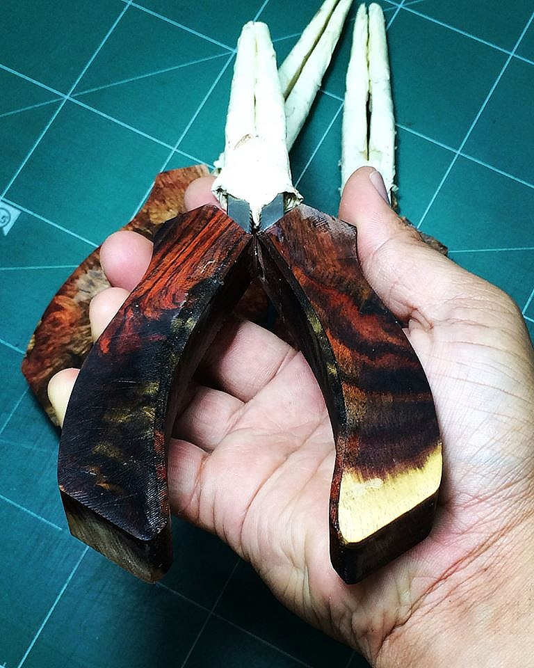 (Handmade by witbang) คีมปลดเบ็ด