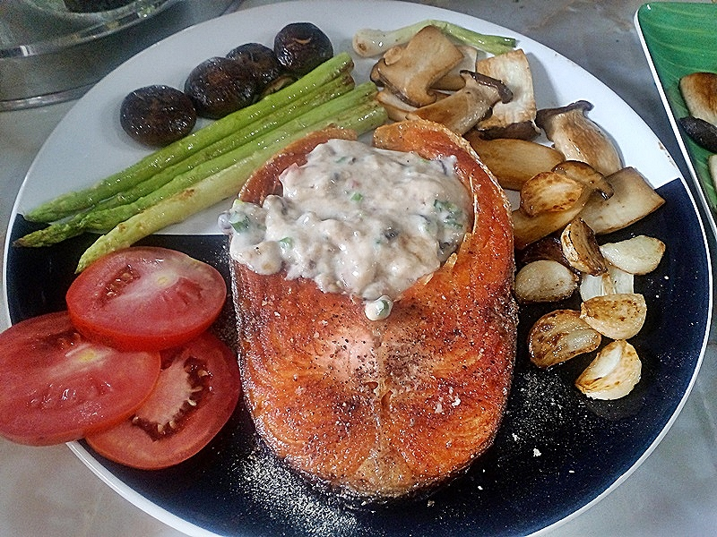 สเต็กปลาแซลม่อล