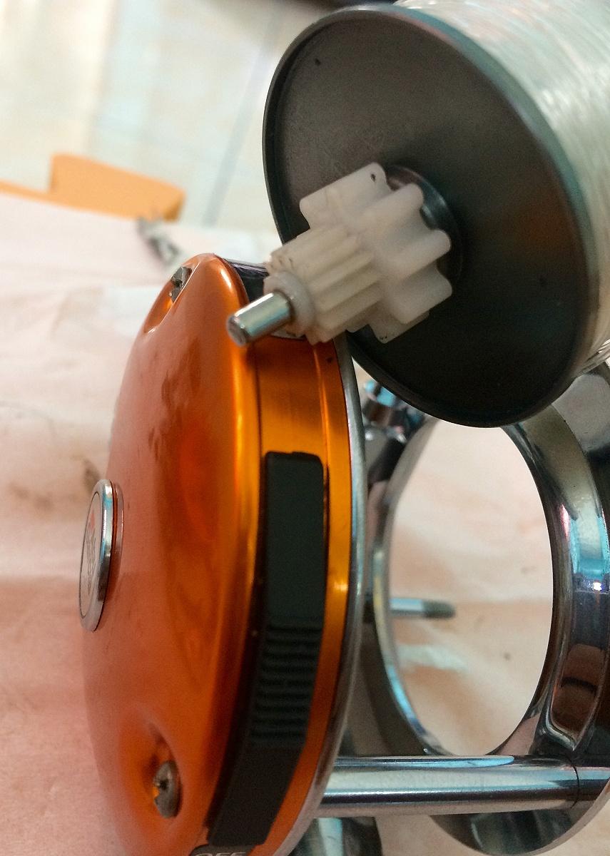 ผ่าล้างโมแต่ง ABU 4500CS ต่อ