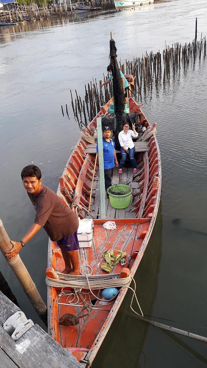 ล่องเรือตกปลากดที่บางขุนเทียนชายทะเล