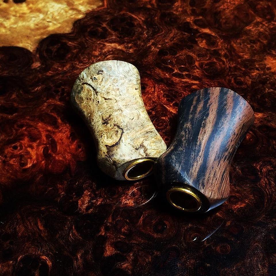 ลองฝึกทำน็อปไม้แบบบิดซ้าย Thailand handmade Wood by witbang