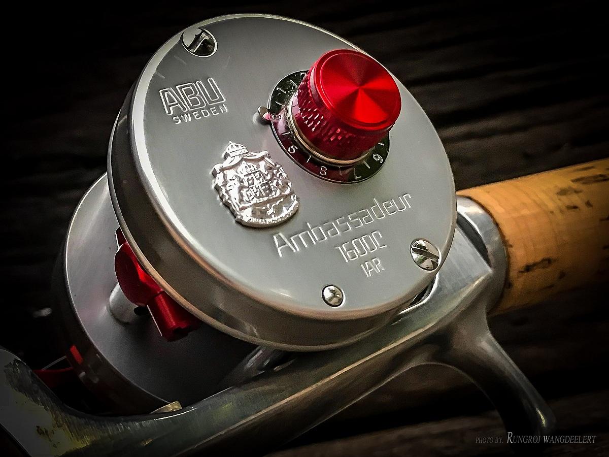 # Abu Ambassadeur 1600 C IAR Avail Red Tune