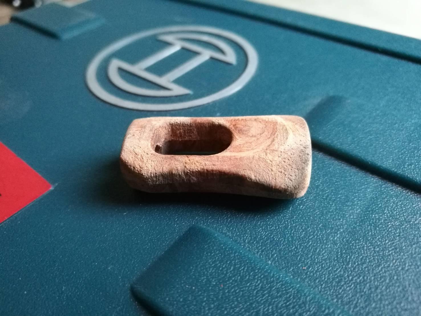 Wood knob for daiwa