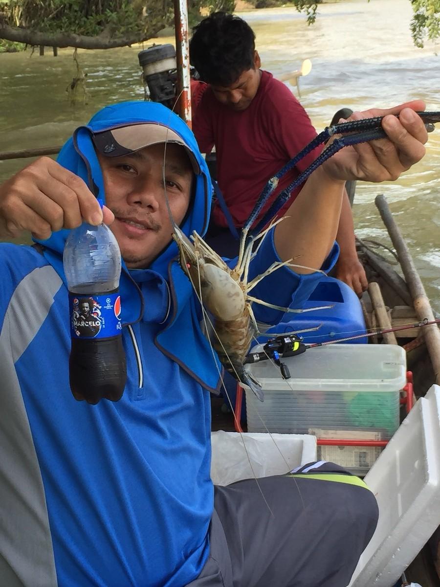 เช้าตกปลาเที่ยงตกกุ้ง