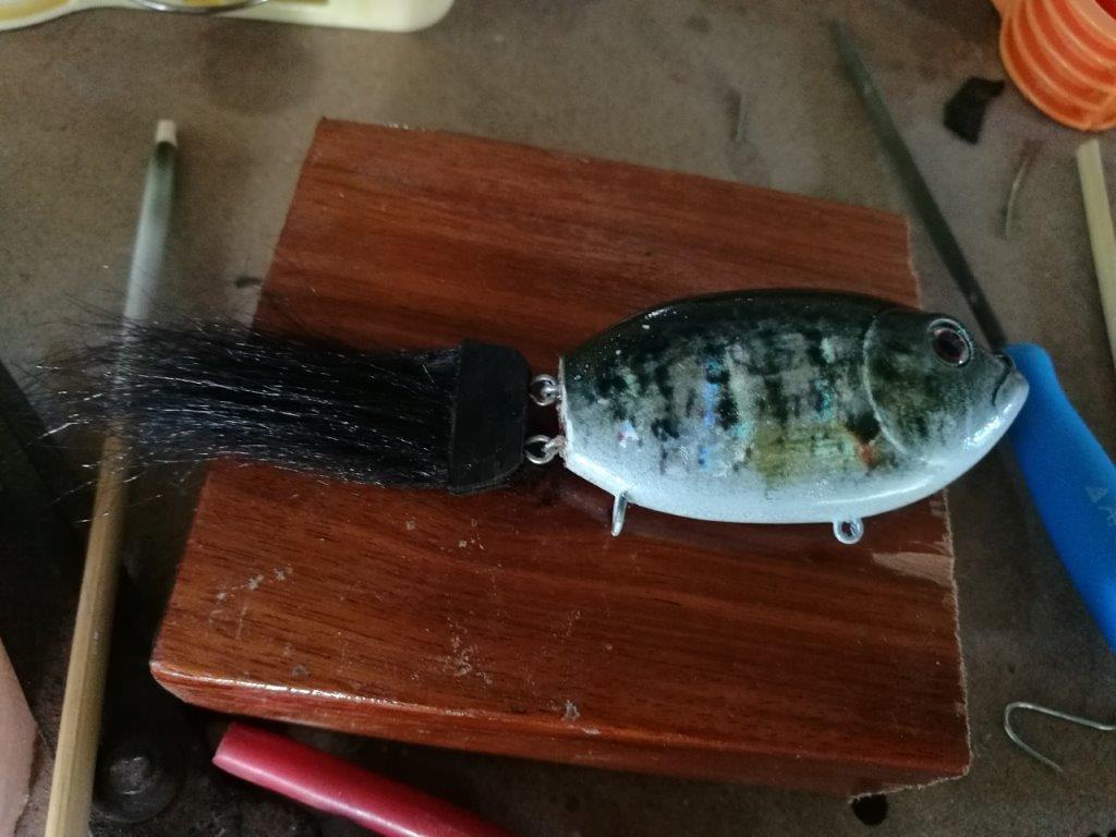 ทำหางปลาด้วย ขน Polar Fiber