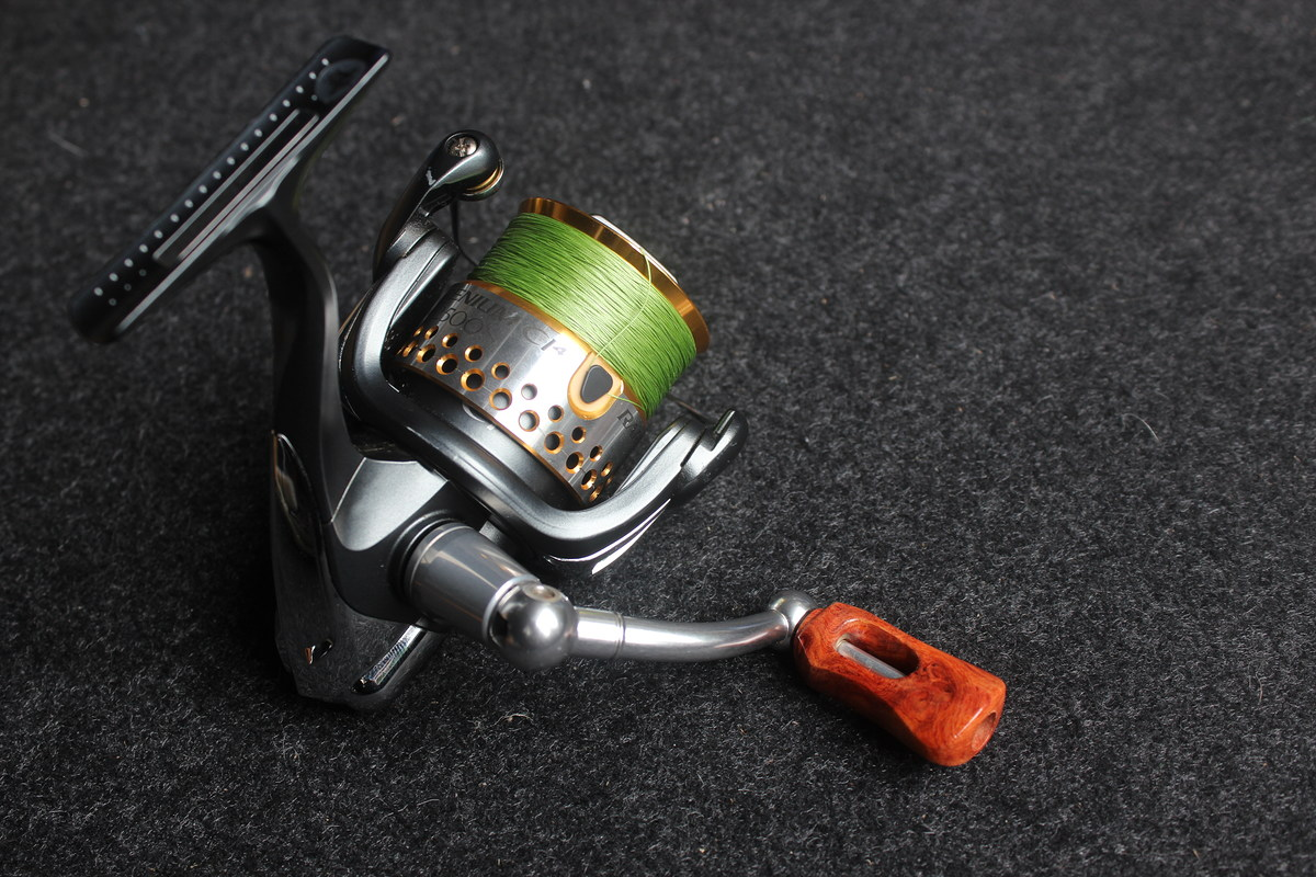 Racing Wood knob for Daiwa and Shimano