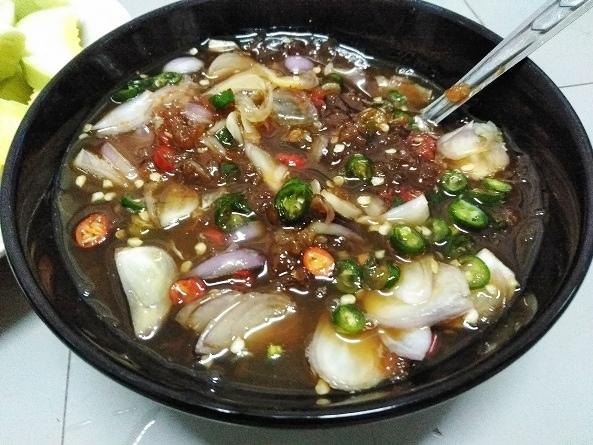 น้ำปลาหวาน มะม่วง