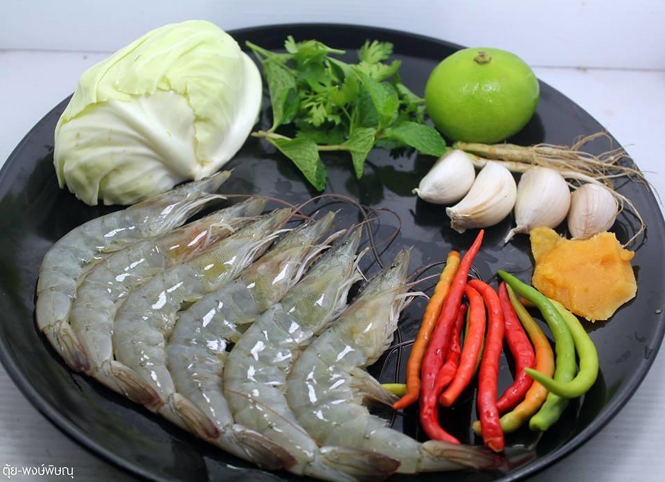 กุ้งแช่น้ำปลา กับแกล้มด่วนๆ